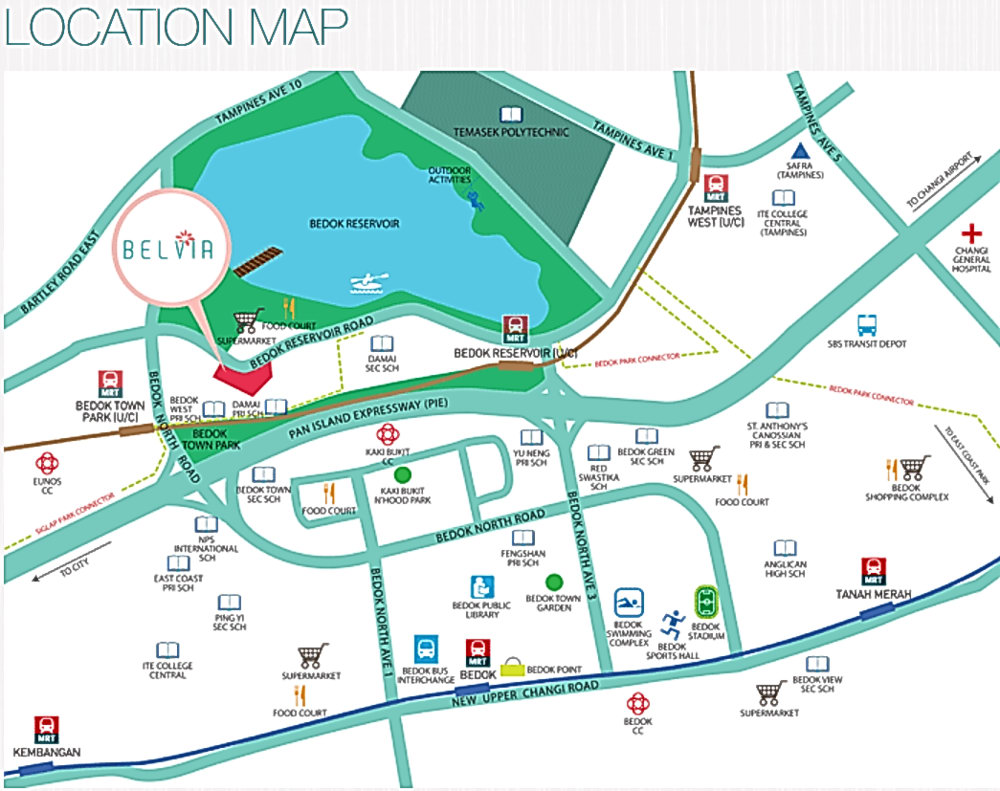Belvia - 1st Bedok DBSS (勿洛 DBSS)! Short Walk To Future Bedok Town ...